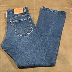 Men's Levi's 517 Jeans 33 33x34 Vintage Bootcut